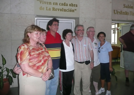 Cuban5Delegation